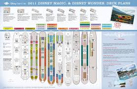 2016 disney cruise deck plans