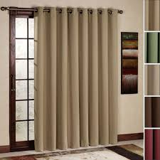 image of window treatment for sliding glass doors ideas