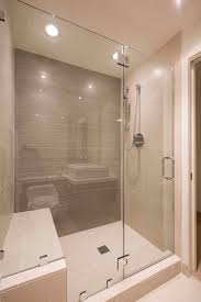bathroom showers stalls. Shower Stalls Seat And Grab Bars On Pinterest This Modern Bathroom Has A Large Glass Enclosed Showers N
