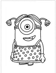 Small Picture Minion Coloring Pages Printable Coloring Coloring Pages