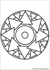 Small Picture easy simple mandala 69 Coloring pages Printable