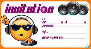 Carte Invitation Emoji A Imprimer Pyjama Party Smiley Coloriage