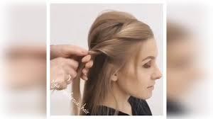 Easy Prom Hair Tutorial Simple Easy