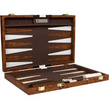 previous next this leather backgammon set