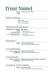 Resume Templates For Word 2013 Best of Resume Word Templates Tazy