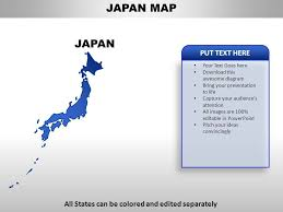 Japan Country Powerpoint Maps Templates Powerpoint Slides
