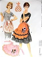 Vintage Apron Patterns Unique VINTAGE APRON PATTERNS