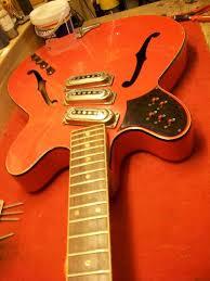 guitar restoration framus fret jet 1965 graham parker luthier