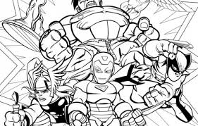 Small Picture super hero squad coloring ot Pinterest Squad
