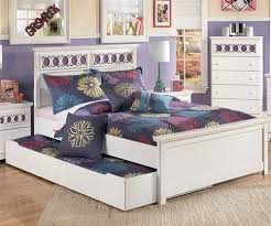 Ashley Furniture Zayley Full Size bed with trundle for girls