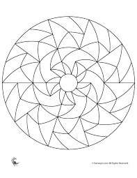 Small Picture Simple Geometric Designs Coloring Pages Images Pictures Becuo