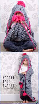 Hooded Blanket Crochet Pattern Simple Inspiration