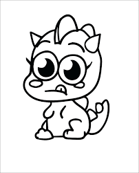 Moshi Monsters Coloring Pages Free Moshlings