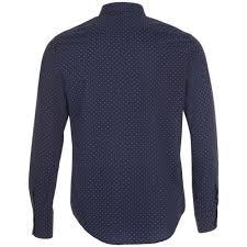 <b>Рубашка мужская BECKER MEN</b>, темно-синяя с белым с ...