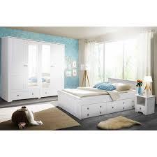 Weißes Schlafzimmer Aus Holz Kiefer Massiv Country Style Velriva