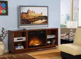 Living Room Tv Stand Designs Furniture Tv Stand With Electric Fireplace For Living Room