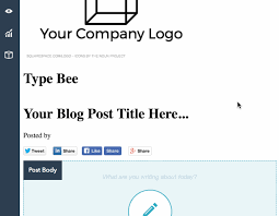 How To Create A Blog Create And Publish Blog Posts