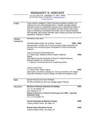Peace Corps Resume Extraordinary Resume Examples Example Of Resume By EasyJob The Best Free