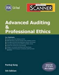 Pankaj Garg Audit Charts Nov 2018 Scanner Advanced Auditing Professional Ethics For Ca