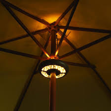 Umbrella Lights Light Up Your Outdoor Space With Patio Umbrella Lights Led