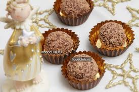 <b>Шоколадные конфеты с начинкой</b> — рецепт с пошаговыми ...