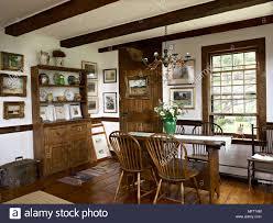 Landhausstil Esszimmer Mit Tisch Und Stühlen Eiche
