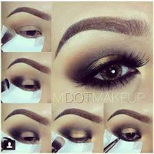 with this bronzed smoked eye makeup tutorial you will let those baby blues browns greens or wver shine