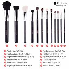 12pcs professional makeup brush top natural bristle cosmetics set with leather bags wooden handle makeup brush set