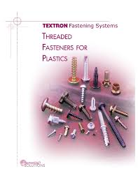 Plastite Screw Torque Chart Threaded Fasteners For Plastics Technical Manual Pages 1
