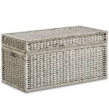 wicker storage chest. Simple Wicker Wicker Storage Trunk Set For Chest A