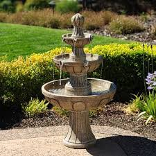 floor outdoor fountains. Napa Valley 45-inch Fiberglass Fountain Floor Outdoor Fountains F