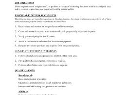 Marvelous Kmart Cashier Job Description Resume Cv Cover Letter
