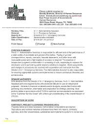 Sample Resume For An Administrative Assistant Letter Resume Source