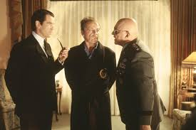 mars attacks film s the red list pierce brosnan jack nicholson and rod steiger in mars attacks directed by tim burton
