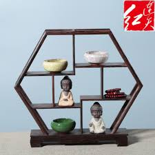 Wooden Display Stands For Figurines Shape Of Peach Wooden Display Stand Rosewood Figurines 21
