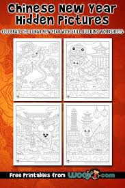 60 chinese new year crafts and activities for kids. Chinese New Year Hidden Pictures Woo Jr Kids Activities