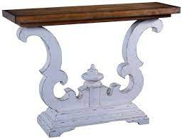 antique style console tables modern