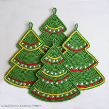 Crochet Christmas Tree Pattern Impressive Ravelry 48 Christmas Tree Decor Pattern By LittleOwlsHut