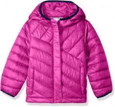 Columbia Big Boys Powder Lite Puffer Jacket Deep Blush Large
