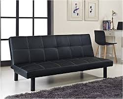 leather sofa bed. Contemporary Leather Comfy Living Single Faux Leather Sofa Bed In Black  Spencer Sofabed  Amazoncouk Kitchen U0026 Home To M