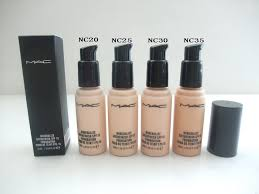 new style mac foundation 5 color