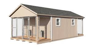 here at horizon structures we design and craft custom dog kennel buildings that fit the needs of breeders trainers owners and everyone in between looking
