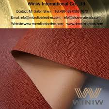 high quality faux leather fabric material for basketball