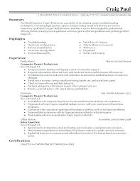 Entry Level Automotive Technician Resume Template Samples Industrial