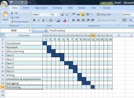 Creating A Gantt Chart Software Development Tutorials