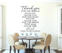 wall art for kitchens decals blackboard decal luxury kitchen prayer vinyl ar wall art for kitchens