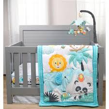 play all day 6 piece crib bedding set