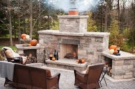 outdoor fireplace kits stunning fire pit components wood with regard to prepare 9