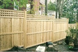 fence panels designs. Image Of: Prefab Wood Fence Panels Ideas Designs