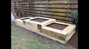 Building Raised Garden Beds Railway Sleepers